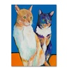 Pat Saunders Dos Amores Canvas Print