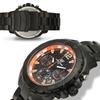 Aubert Freres Chronograph Lagasse Mens Watch Black/Orange