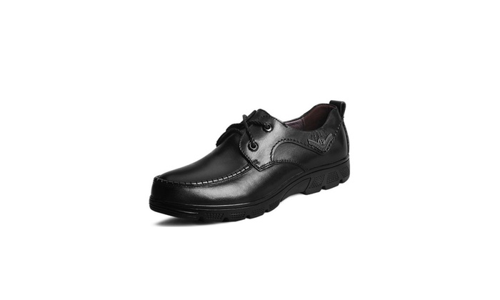 Men's Oxfords Leather Dress Shoes