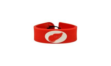 NHL Classic Gamewear Leather Hockey Bracelet 0c114592-a674-4cb1-9f2f-15c186d66637
