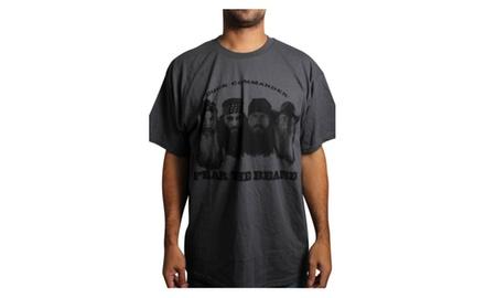 Beard Fears Charcoal T-shirt