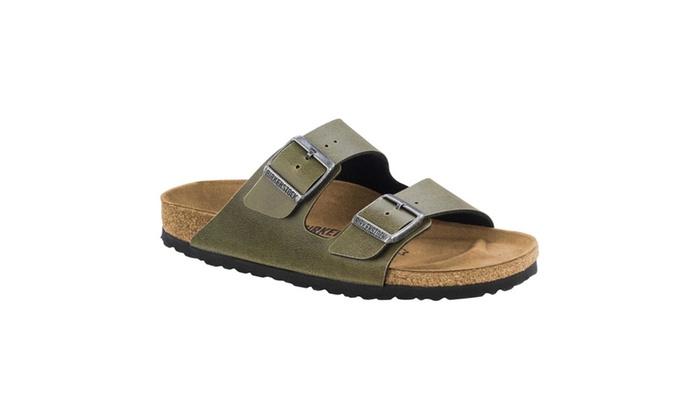 Unisex Arizona Olive Birko-Flor Pull Up Sandal pzE9OAIFr