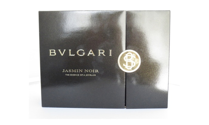 fe806d94e0bb Bvlgari Jasmin Noir Eau De Parfum Body Lotion The Essence Gift Set   Groupon