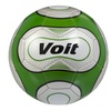 Voit Size 5 Reflect Soccer Ball Deflated - Silver and Green Graphic