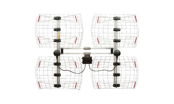 Antennas Direct Enhanced Db8e Multidirectional Bowtie UHF Antenna