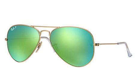 Ray-Ban Polarized Aviator Unisex Sunglasses