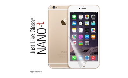 iPhone 6 Just like Glass® NANO-t Screen Protector