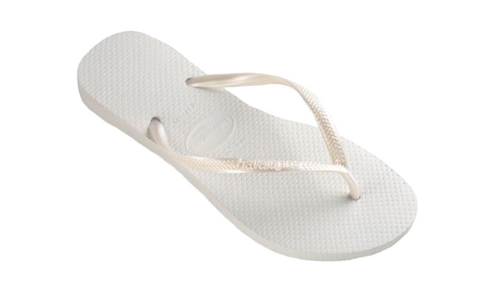 Havaianas Slim White Women's Flip Flop