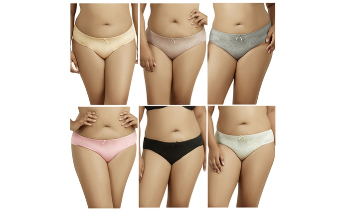 Plus Size Cotton Bikini Panty Livingsocial