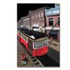 Roderick Stevens Bourbon Street Trolley Canvas Print