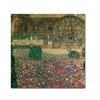 Gustav Klimt 'Country House' Canvas Art