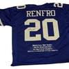 Mel Renfro Autographed Custom Jersey (MAB - MRENJER2)