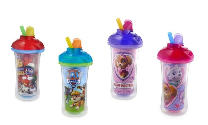 Munchkin Click Lock™ Insulated 9 oz Paw Patrol Straw Cup | Groupon