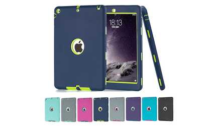 Computers tablets deals coupons groupon image placeholder image for shockproof hybrid heav duty rubber hard case cove for ipad mini 12 fandeluxe Images
