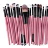 20pcs Toiletry Soft Wood Makeup Brush Set Kit