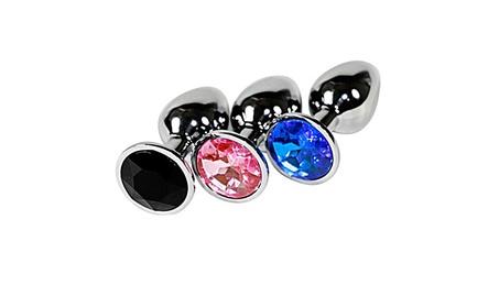 Jeweled Small Super Steel Fetish Plug Anal Sex Love Games bb513558-22eb-43bd-b35f-b4b48df4353e