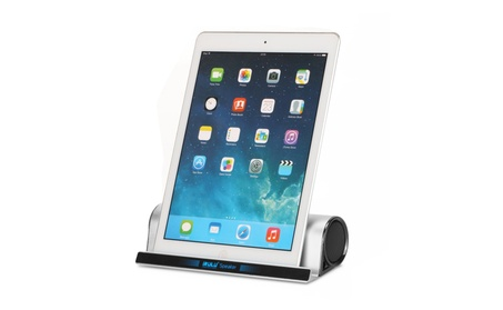 iRULU Wireless Stereo Bluetooth Speaker With Stand Dock 4f535c0e-dfd0-4166-b6eb-e8a505dc5b7f