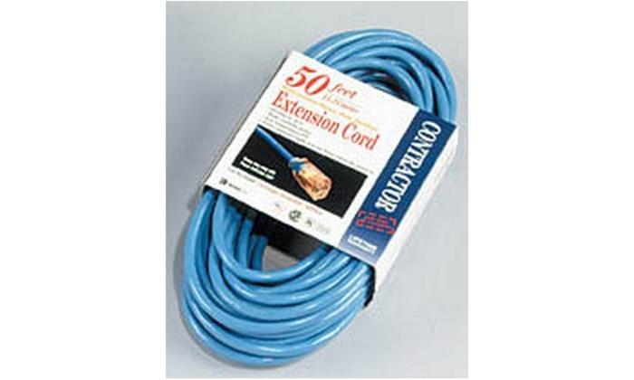 Cord Ext 14-3 50Ftblu