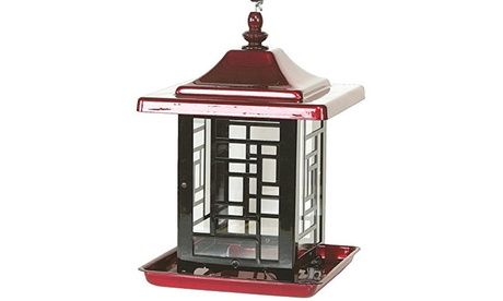 Gardner Equipment Mosaic Feeder Bird Feeder Red - 4482 (Goods For The Home Patio & Garden Bird Feeders & Food) photo