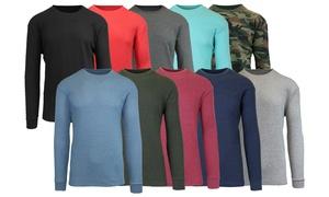 4-Pack Galaxy By Harvic Men's Waffle-Knit Thermal Shirts (S-5XL)