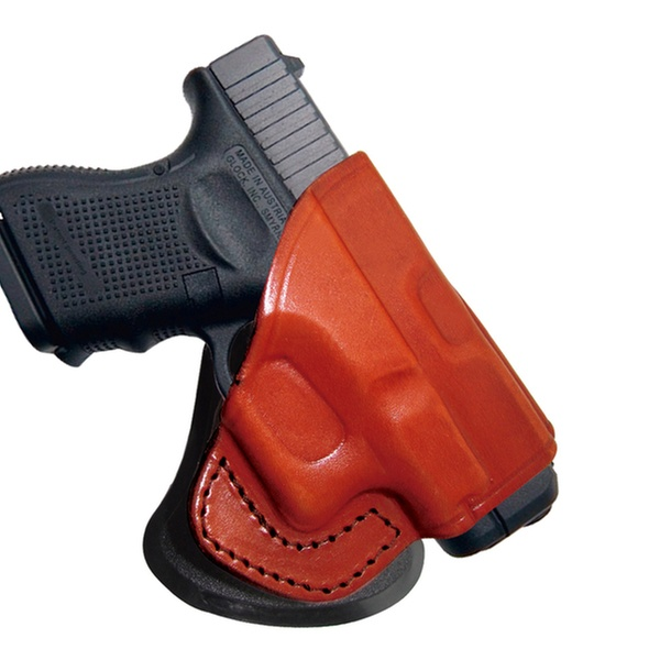 Tagua Glock 19-23-32 Rotating Open Top Paddle Holster Brown