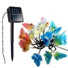 5M 20LEDs Butterfly Colorful Fairy String Lights for Patio Yard Garden