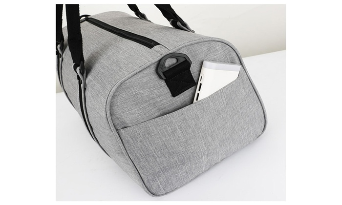 7e77c003178c ... Noblag Luxury Travel Duffel Bag Weekender Shoe Compartment ...