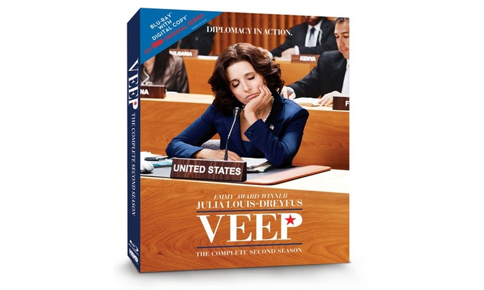 Groupon Goods: Veep: The Complete Second Season (Blu-ray and Digital Copy/UV)