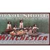 """Rockin W Brand Winchester """"Do You Shoot?"""" Door Mat"""