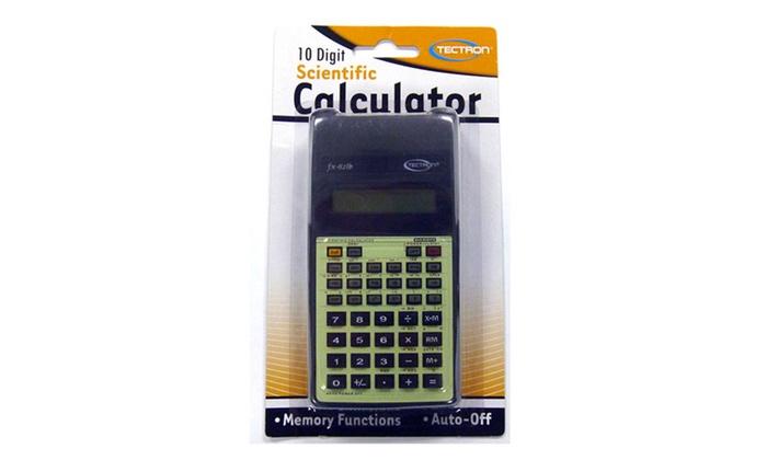 Buy It Now : Back To School-Scientific Calculator 10 Digit