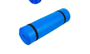 10mm Thick NBR Pure Color Anti-skid Yoga Mat