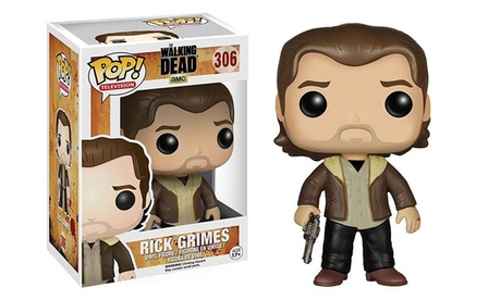 Funko Pop TV The Walking Dead Rick Grimes Vinyl Figure Collectible Toy #306 38e59b00-a37b-4fcf-ac9e-6467d7222cf6