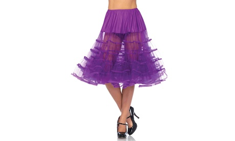 Leg Avenue Women's Knee Length Petticoat Tutu Skirt