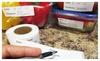 Evelots 250 Adhesive Food Storage Labels for Freezer & Refrigerator