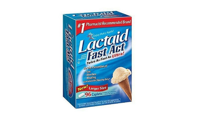 Buy It Now : Lactaid Fast Act - Lactase Enzyme Supplement, 90 ct.