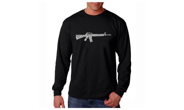 Men's Long Sleeve T-shirt - RIFLEMANS CREED