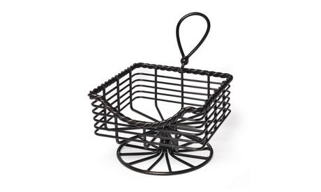 Gourmet Basics by Mikasa Rope Napkin Basket f93c74d0-a419-4617-9b7b-b85cc8895ac5
