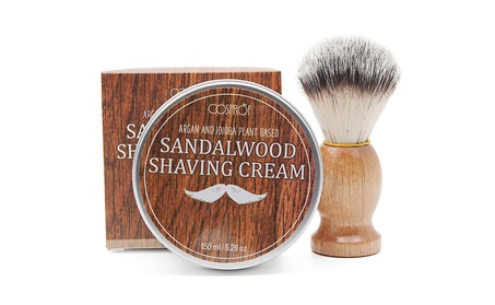 Shaving Kit with Sandalwood Shave Cream & Synthetic Shave Brush 15f05a88-5262-42ba-97b8-de2abfc1d1e0