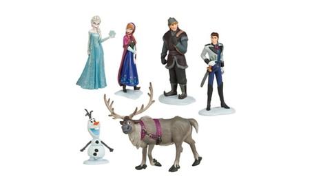 6pcs/set Queen Elsa Princess Anna Hans Ect Action Figures 34648fd6-807d-41a4-926b-aa3fa9034887