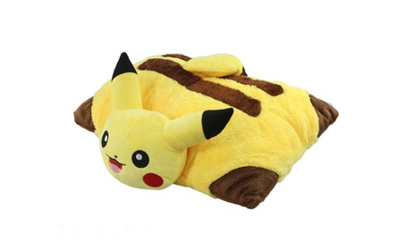 Pikachu Plush Doll Pokemon Pet Cushion Pillow Plush Doll Toy ae8f1329-5d8a-4f86-ba6a-acbded257c6a