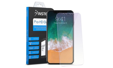 Insten Anti Blue Ray Tempered Glass Edge to Edge Screen Protector for iPhone X 2ae36ea4-1edd-4d3f-b459-c798b3a70ad7