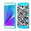 Insten Zebra Hard TPU Case For Samsung Galaxy Note 5 - Black White