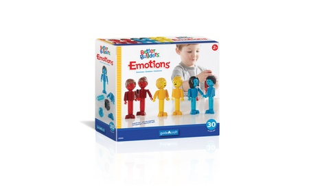 Guidecraft™ Better Builders® Emotions: 30 Piece Set G8306 04e308f8-4262-4903-ab5d-d85e28dcead2