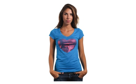 Heart Foil T Shirt