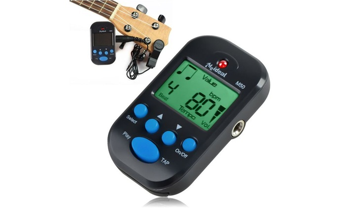 Insten Black Lightweight LCD Digital Beat Tempo Mini Metronome
