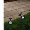 Outdoor Solar Yard Spotlights (4-Pack)