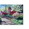 David Lloyd Glover Azalea Pathway Canvas Print