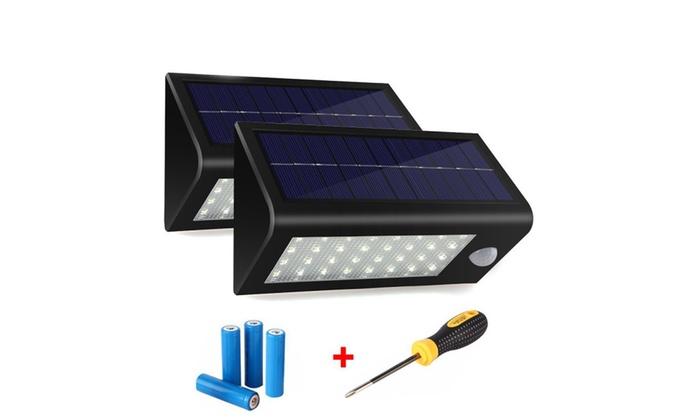 400Lumens 32LED Solar Powered Motion Sensor Light