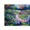 David Lloyd Glover Natures Garden Canvas Print