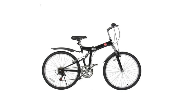 42 Off On 26 Folding Mountain Bicycle Groupon Goods